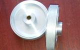 济南光宇200mm周长全铝合金滚花米码轮