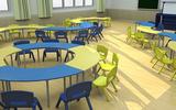 42位通用教室(幼儿园弧形桌)