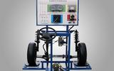 电控液压助力转向系统实训台