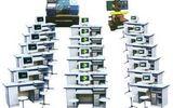 机电一体化,机电一体化教学设备,机电一体化实训设备,机械教学模型,机床维修教学设备,陈列柜