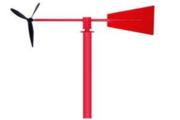 九州晟欣解析风向标工作原理