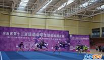 郑州42中夺得河南省第十三届运动会学生组健美操冠军