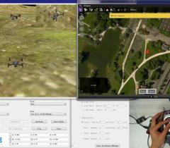无人机教学平台新时代-光学定位室内无人机控制平台