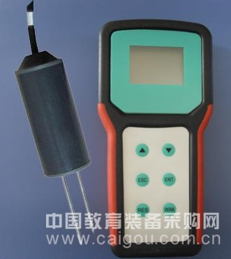 便携式土壤水分盐分温度测定仪