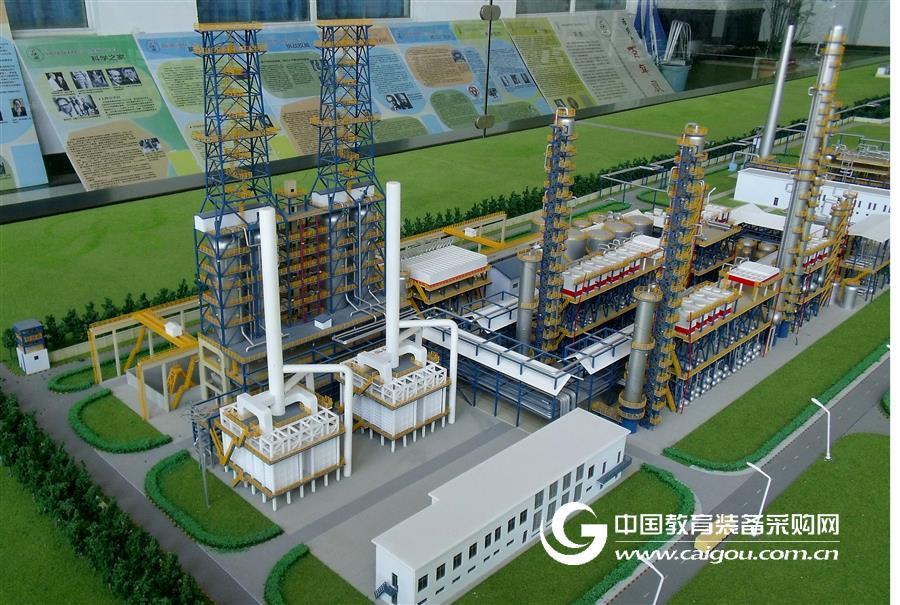 石油化工焦化裝置數字化虛擬現實安全工程專業實驗實訓系統