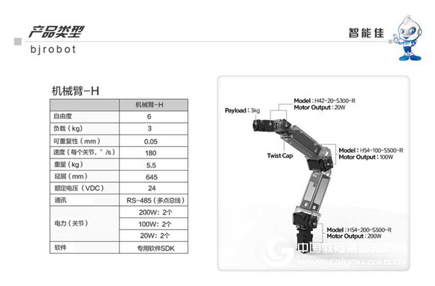 智能佳 ROBOTIS Manipulator L系列多功能机械臂