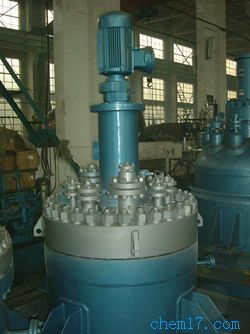 平盖开启式,筒体端部,中高压磁力驱动反应釜