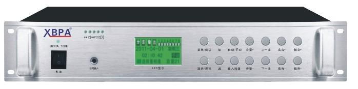 定时功放,校园分区定时广播功放,USB智能编程定时功放设备价格