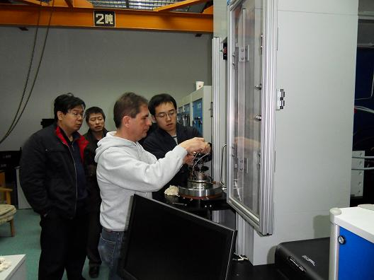 中国石油勘探开发研究院RTR-1500岩石三轴综合测试系统完成调试.jpg