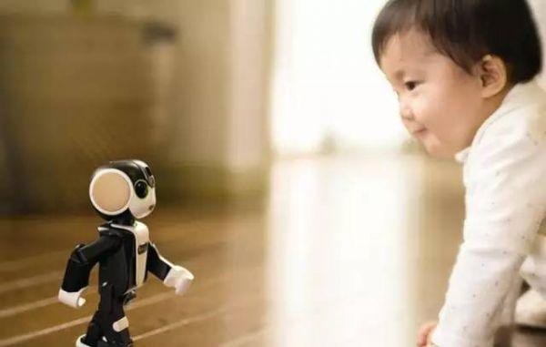 这个机器人除了打电话还能投影!太萌了