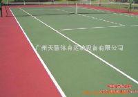 網球場地面 塑膠籃球場 羽毛球場等專業承建