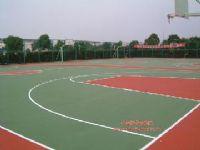 丙烯酸、硅PU、PU塑膠籃球場地建設工程(丙烯酸)
